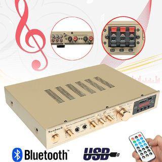 5 CH Bluetooth Amplifier Receiver HiFi Stereo Class D Digital Audio Power Amp #EndgameYourExcess