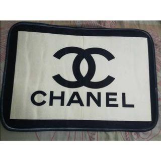 Chanel Black White Rug