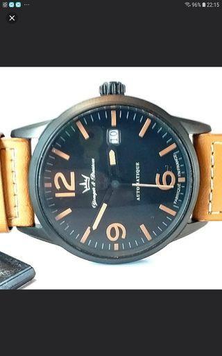 YONGER & BRESSON 法國雍加畢索 MADE IN FRANCE 法國制造 AUTOMATIC 自動錶 42mm,新錶,保証未戴過,有牌仔。