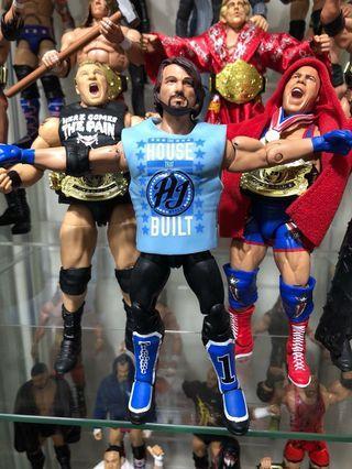 Wwe mattel AJ Styles
