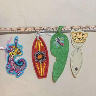 FREE! #blessing Suede and embroidery Book Marks bookmark #endgameyourexcess