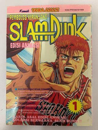 Slam Dunk 1 Edisi Warna