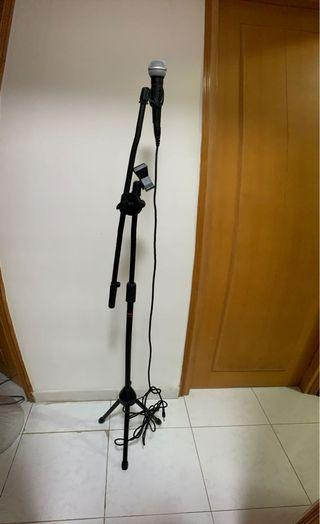 咪架連咪 咪stand連咪 Microphone Stand with Microphone