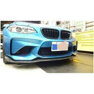 🔥 BMW M2 🔥 碳纖維 Carbon 🚗 前下巴 👍
