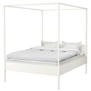 Ikea Queen Hermes Bed Frame With Sultan Mattress Furniture Beds