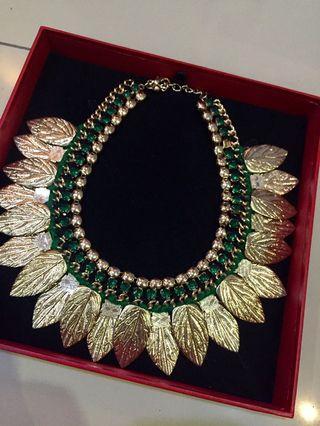 Gold Necklace & Bangle