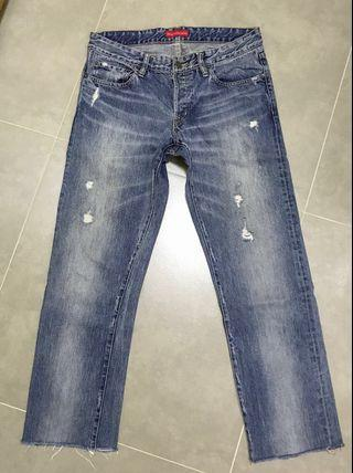 Blue Heros Washed Denim  Size: 30