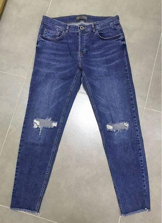 Zara Man Damaged Denim  Size: 32