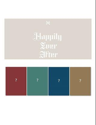 NU'EST 6th Mini Album - Happily Ever After