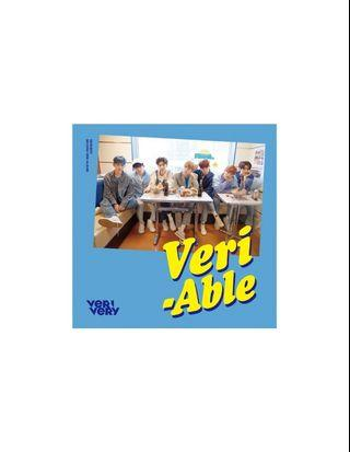 VERIVERY 2nd Mini Album - VERI-ABLE (Official Ver)