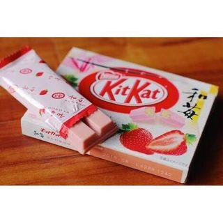 Kitkat Strawberry 🍓