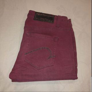 🚚 Blessing Red Skinny Jeans