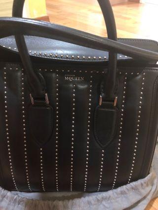 Alexander McQueen Heroine bag with studs