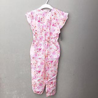 <new> Flower Jumpsuit