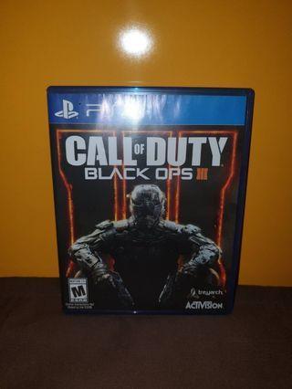 Call of duty black ops III kaset PS4