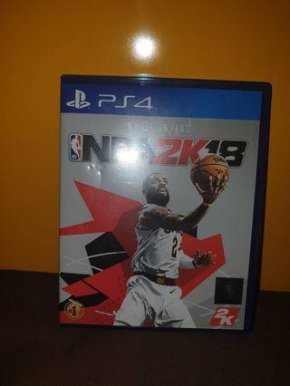 NBA2K18 kaset PS4