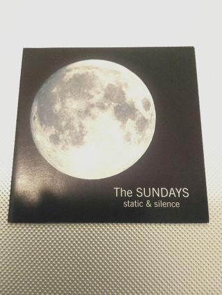 """The Sundays """"Static & Silence"""" CD"""