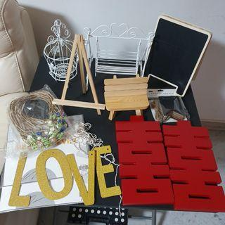 Wedding Decor Decoration DIY Table Setup for Sale