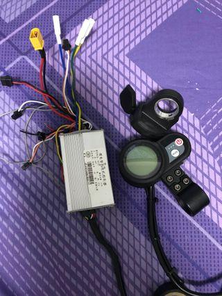 52v 27a controller with LCD