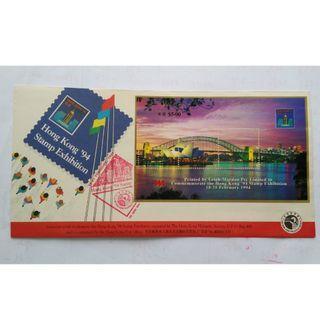 1994年 香港郵學會記念香港94國際郵展記念封