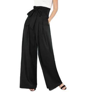 🚚 Sample Sale: Elegant Palazzo pants in black