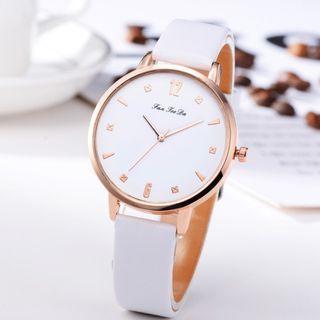 Women's Quartz Leather Wrist Watch