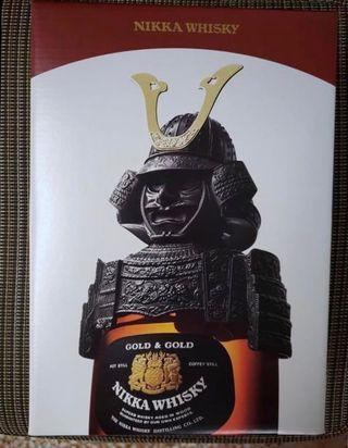 全新 未開封 武士威士忌 Nikka Whisky GOLD & GOLD 禮盒裝