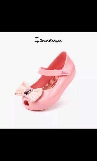Jelly shoes-Barbie theme