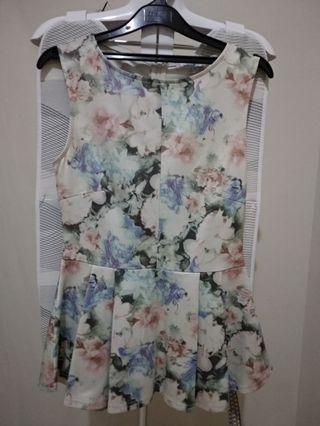 Floral Top Sleeveless
