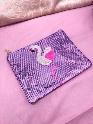 Tarte pouch flamingo