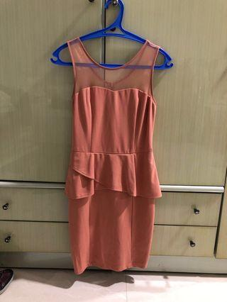 Peach Salem Dress Nice Fit!