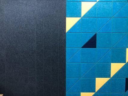 Designer acoustic walls