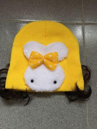 全新小公主假髮冷帽BB冷帽(6months -18months)