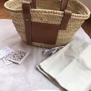 LOEWE Basket small 小款 托特包 編織包
