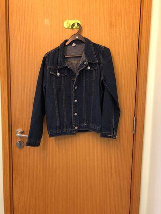 🚚 Dark blue denim jacket