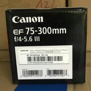CANON EF 75-300 lll