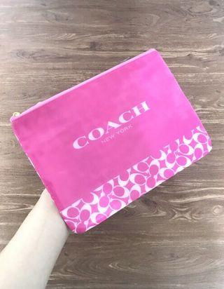 Coach authentic gift pouch