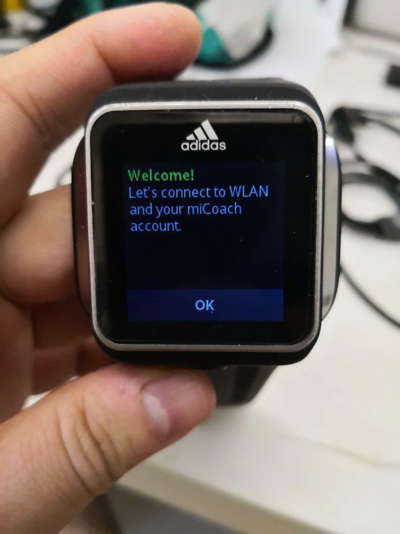 5f148c21145 Adidas MiCoach GPS MP3 Smart Run Smartwatch