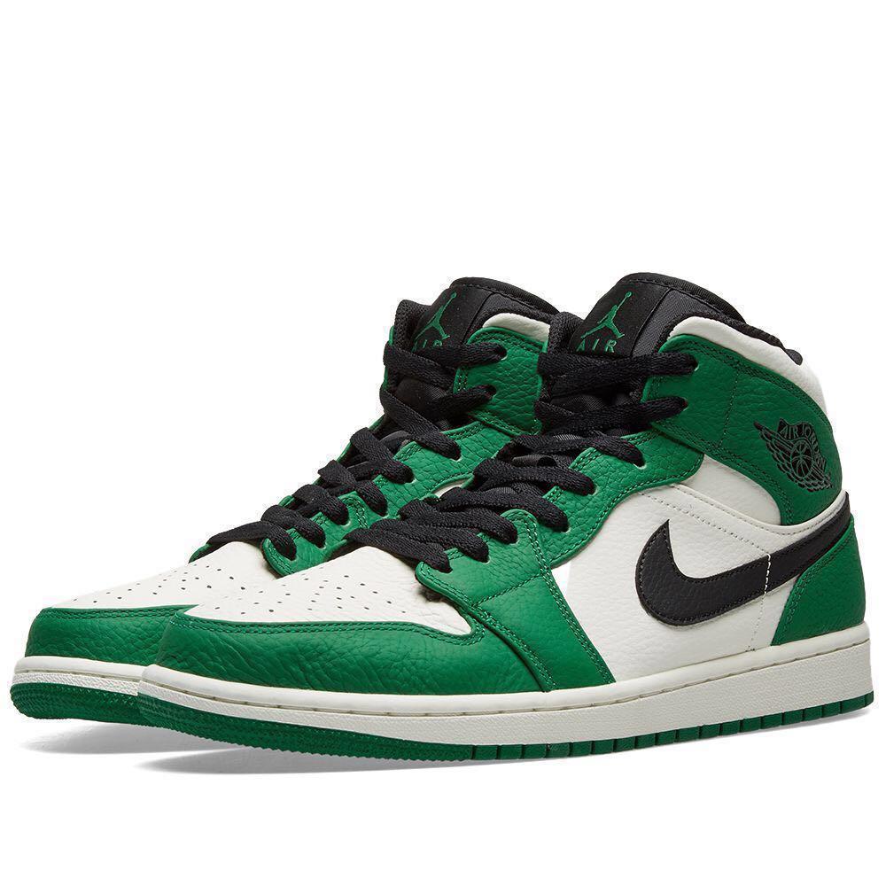 Air Jordan 1 Mid Pine Green, Men's