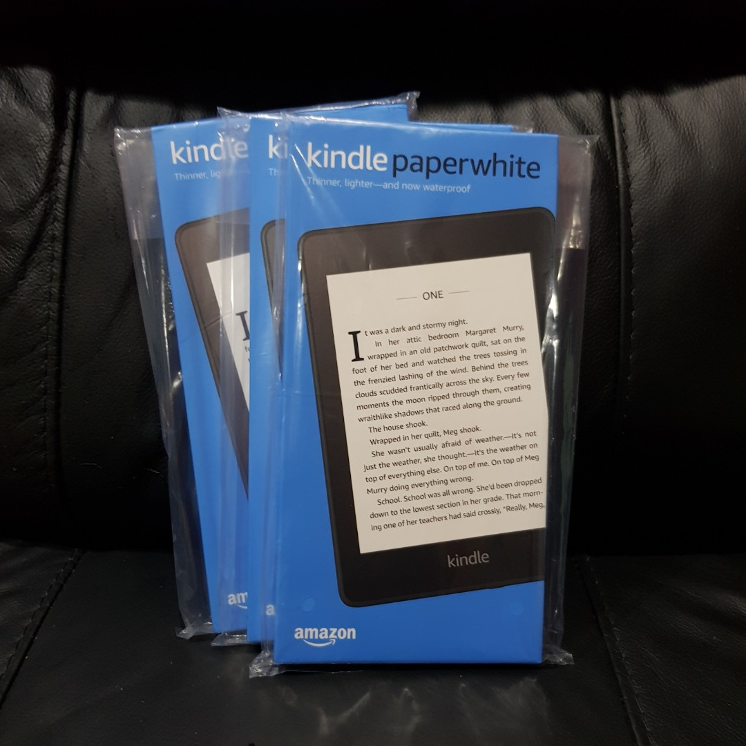 all new kindle paperwhite 2019
