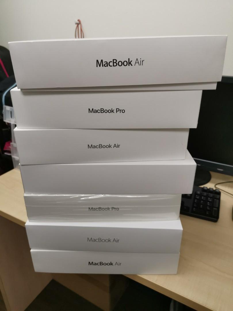 Apple mac Pro empty boxes