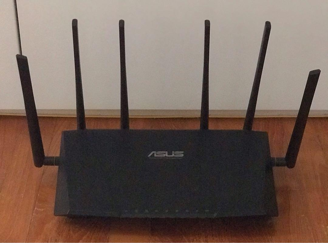 Asus Wireless-AC3200 Tri-band Gigabit Router