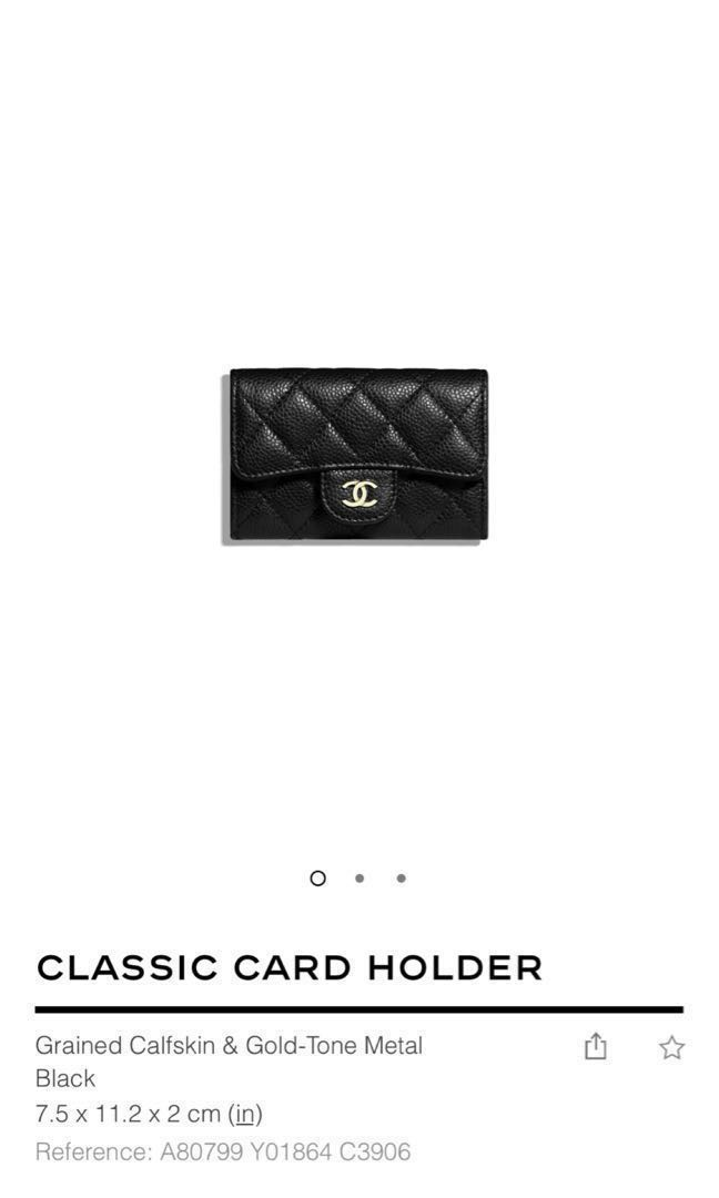 47b51041495e Authentic Chanel Cardholder, Luxury, Bags & Wallets, Others on Carousell