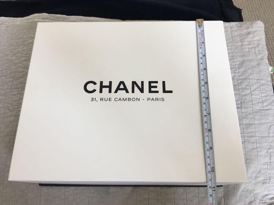 Authentic Chanel Rue Cambon White box