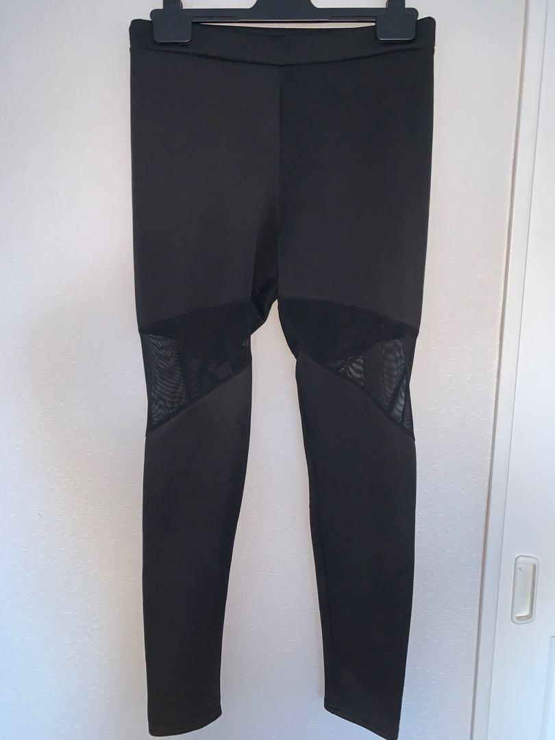Boohoo Mesh Leggings