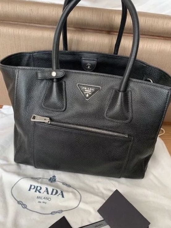 dfa518e2199a Brand new original Prada Vitello bag, Luxury, Bags & Wallets ...