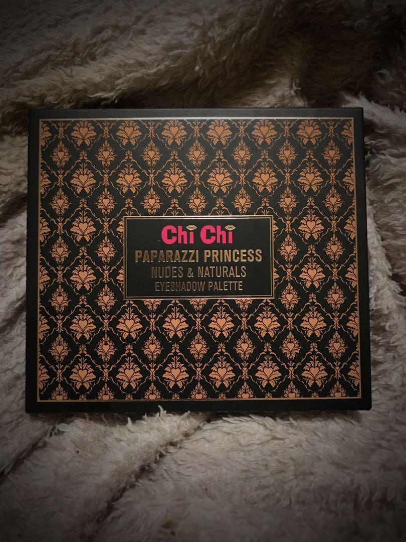 Chi Chi Eyeshadow Palette - Paparazzi Princess Nudes and Naturals
