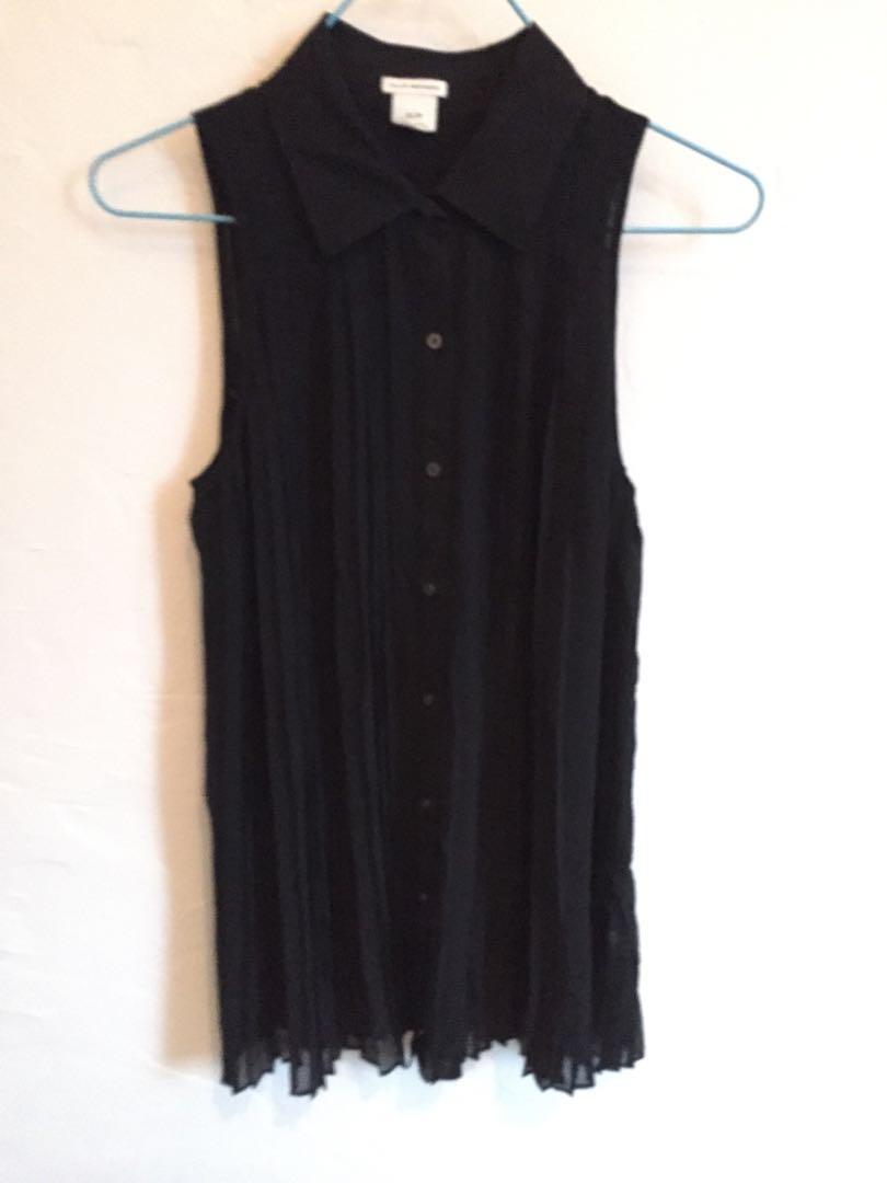Club Monaco black vest 女裝黑色背心