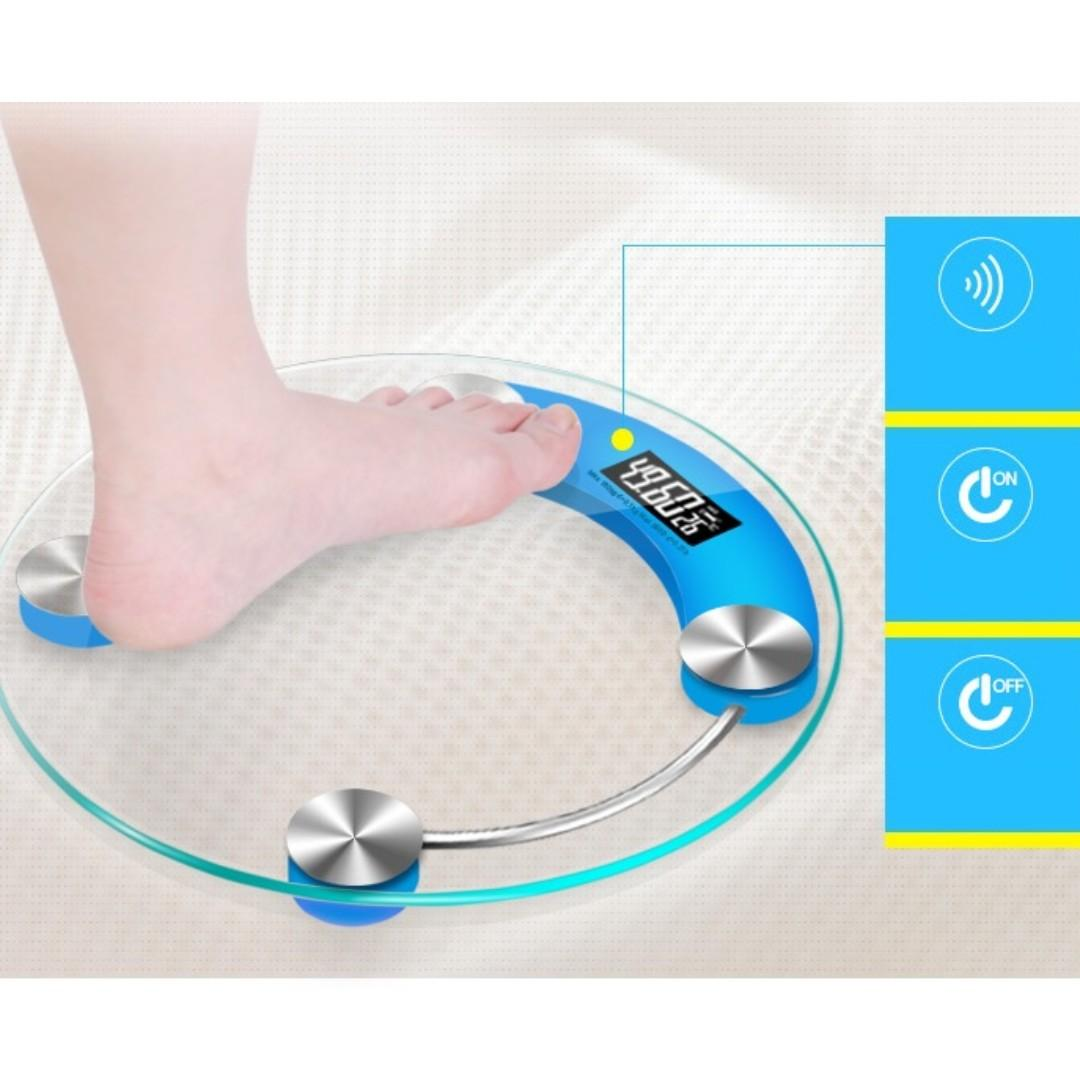 Brand New Digital Weighing Scales Premium Look Weighting Measuring Scale- made by Tempered glass