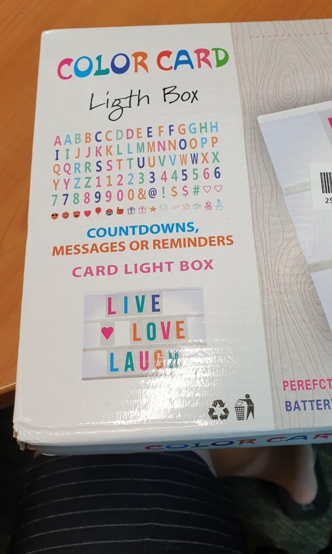 #EndgameYourExcess A4 light box white
